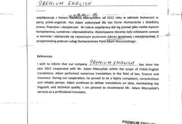 Premium English